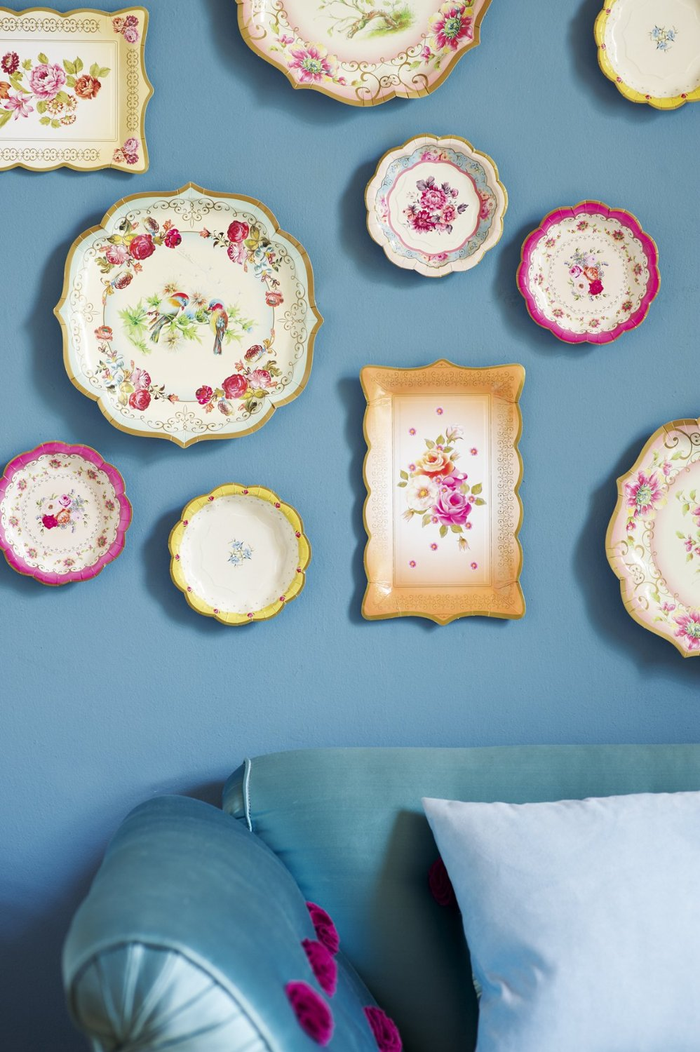Talking Tables Truly Scrumptious Tea Party Plates for Parties (12 ...