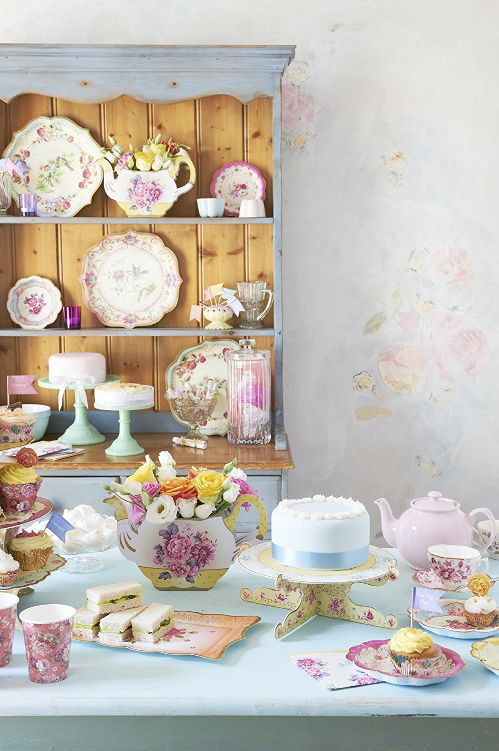 Talking Tables Truly Scrumptious Tea Party Plates For