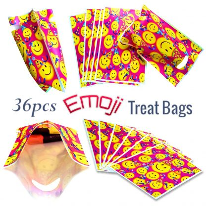 Emoji Goodie Bags For Party Favors At Children Birthday Parties 36