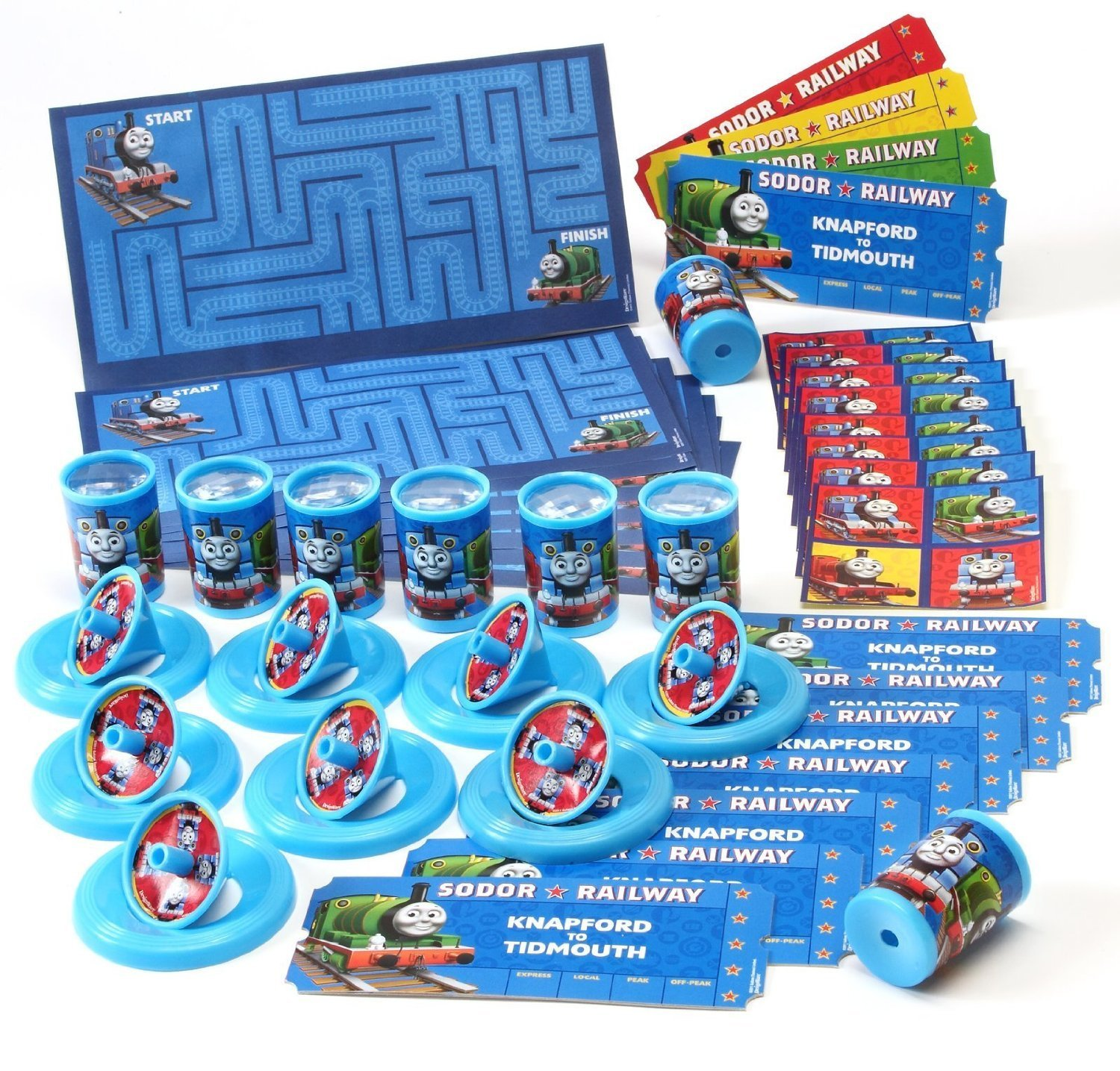 Thomas The Train 48 piece Favor Pack Birthday party supplies