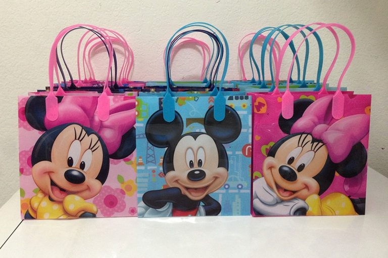 disney mickey and minnie mouse party favor goodie small