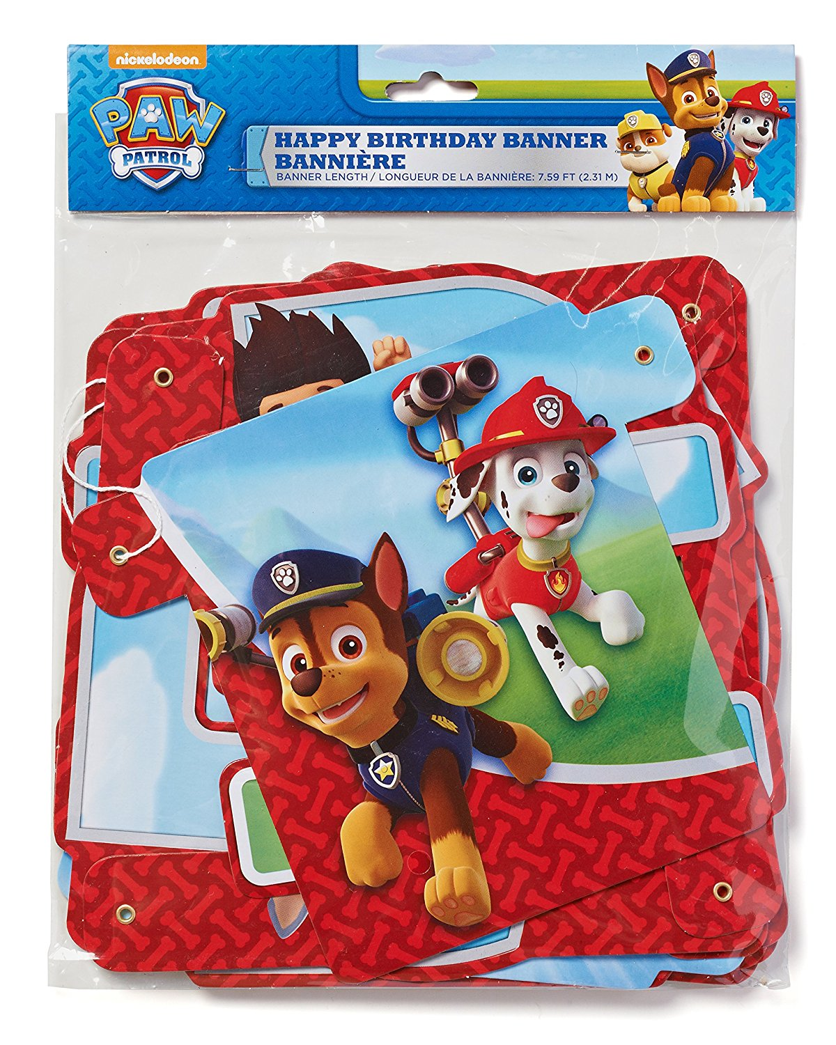 American Greetings Paw Patrol Birthday Party Banner Party Supply