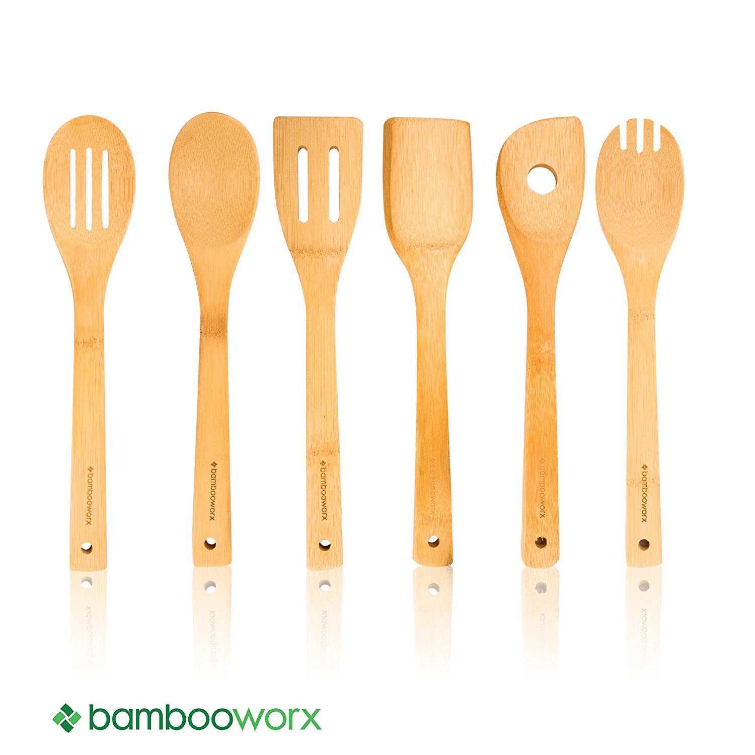 Bambooworx Bamboo Cooking Utensils