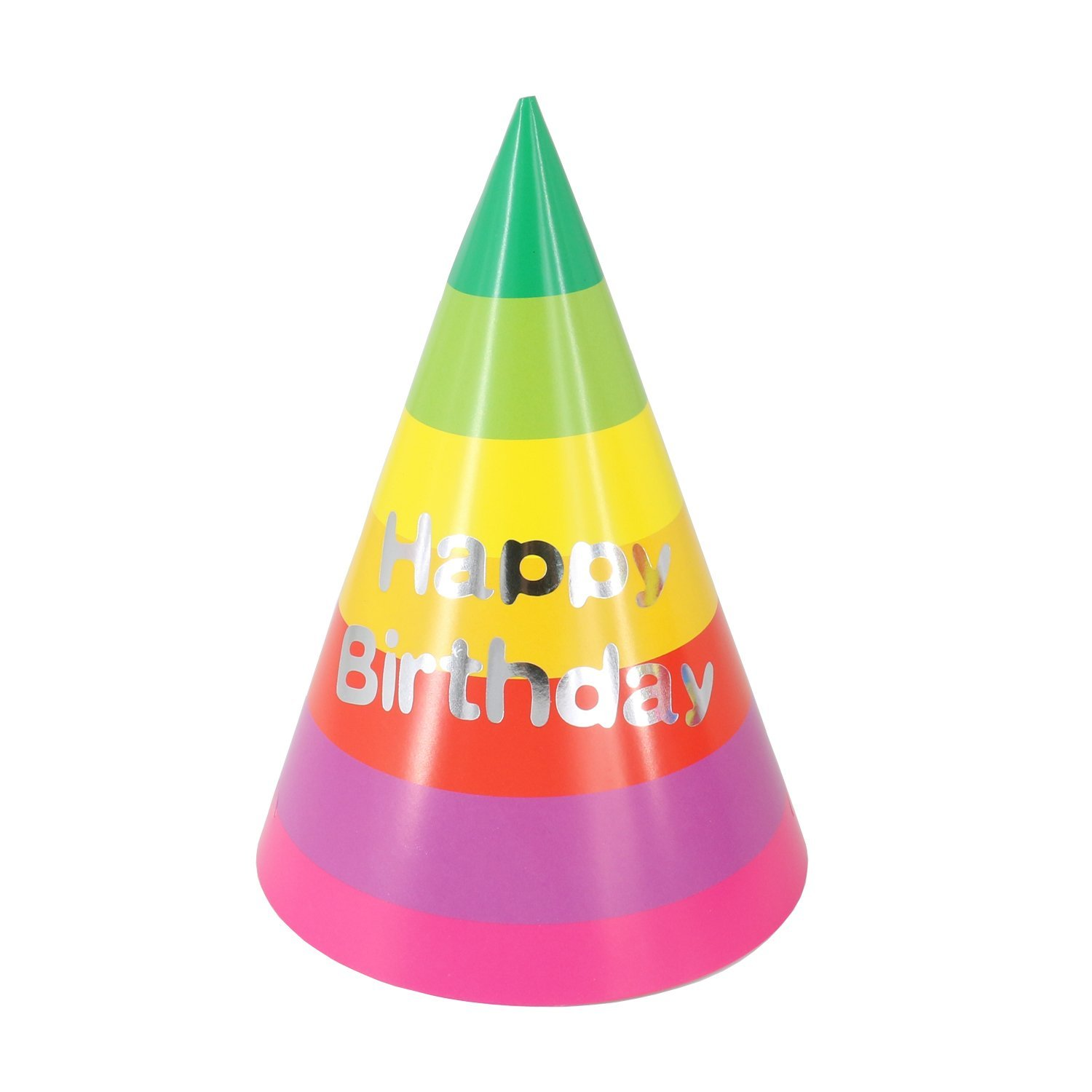 Birthday Party Hats For Kids Supplies Rainbow