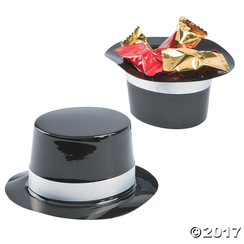 37c4d0ae041 Mini plastic top hats