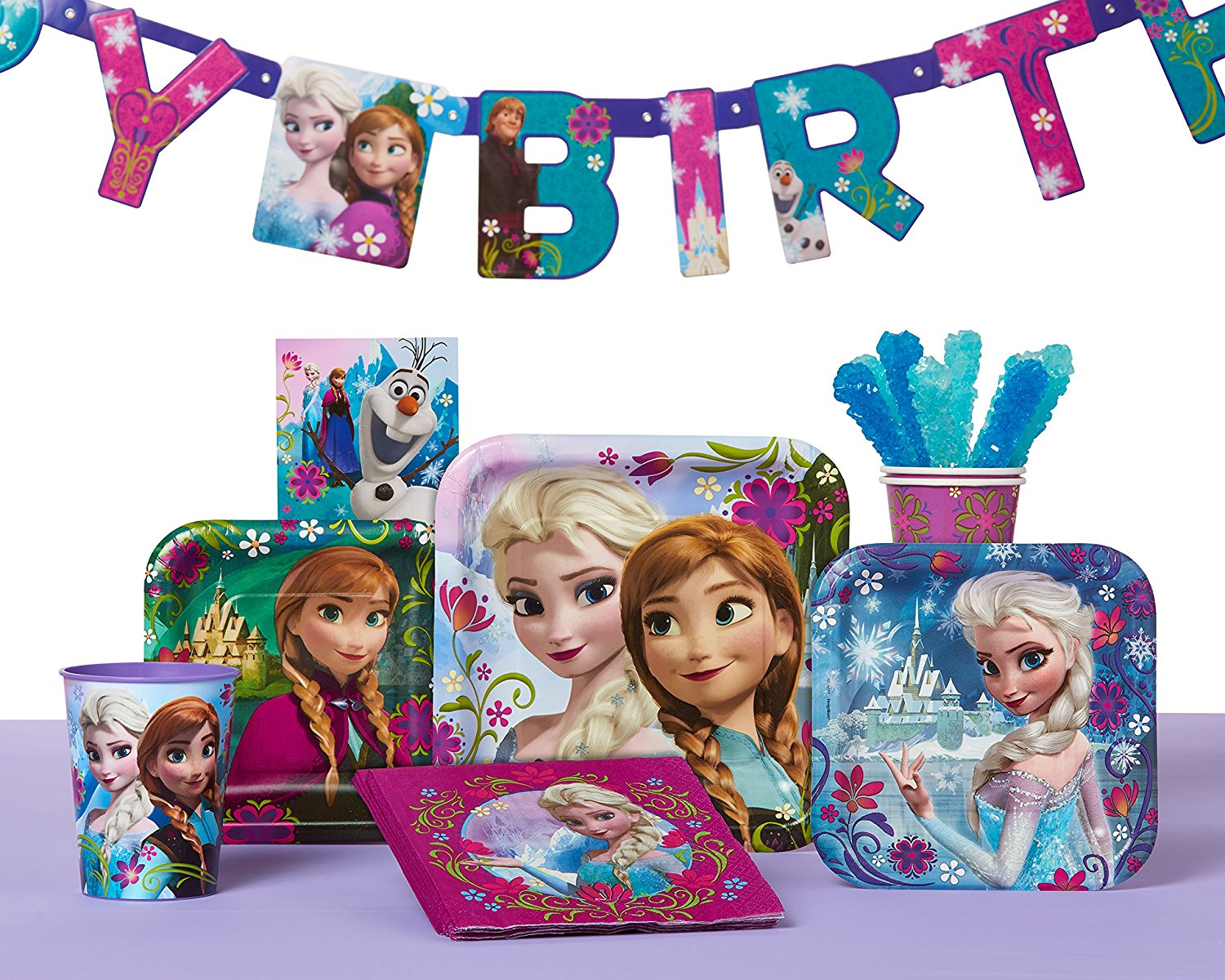 Frozen Birthday Party Banner Party Supplies Party