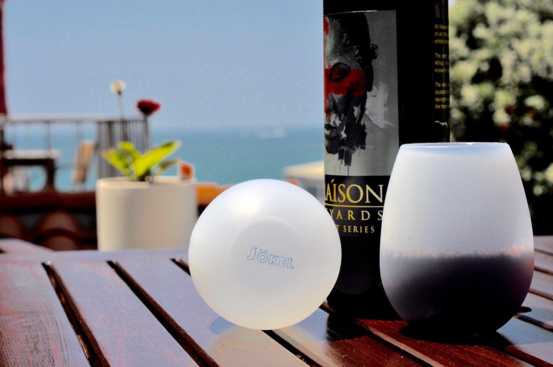jokel silicone dishwasher safe rubber wine glasses set of 4 party supply factory. Black Bedroom Furniture Sets. Home Design Ideas
