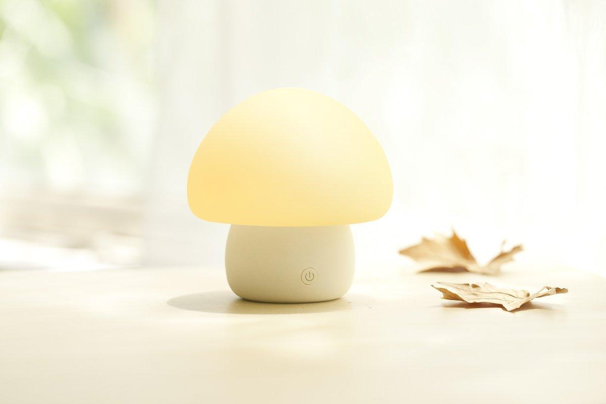 Emoi Multicolor Led Baby Night Light Portable Silicone
