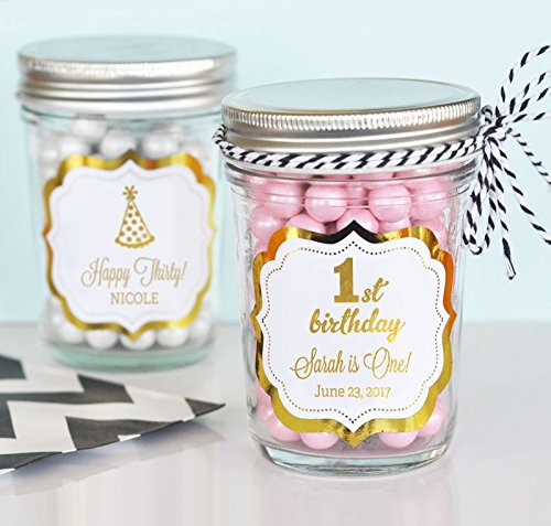 how to make glass jars look vintage