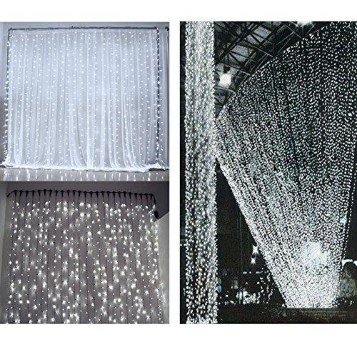 LE LED Window Curtain Icicle Lights