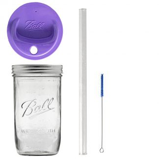 fb64749f843a Consol 2-in-1 Classic Mason Glass Jar with a Smaller Jar Inside with ...