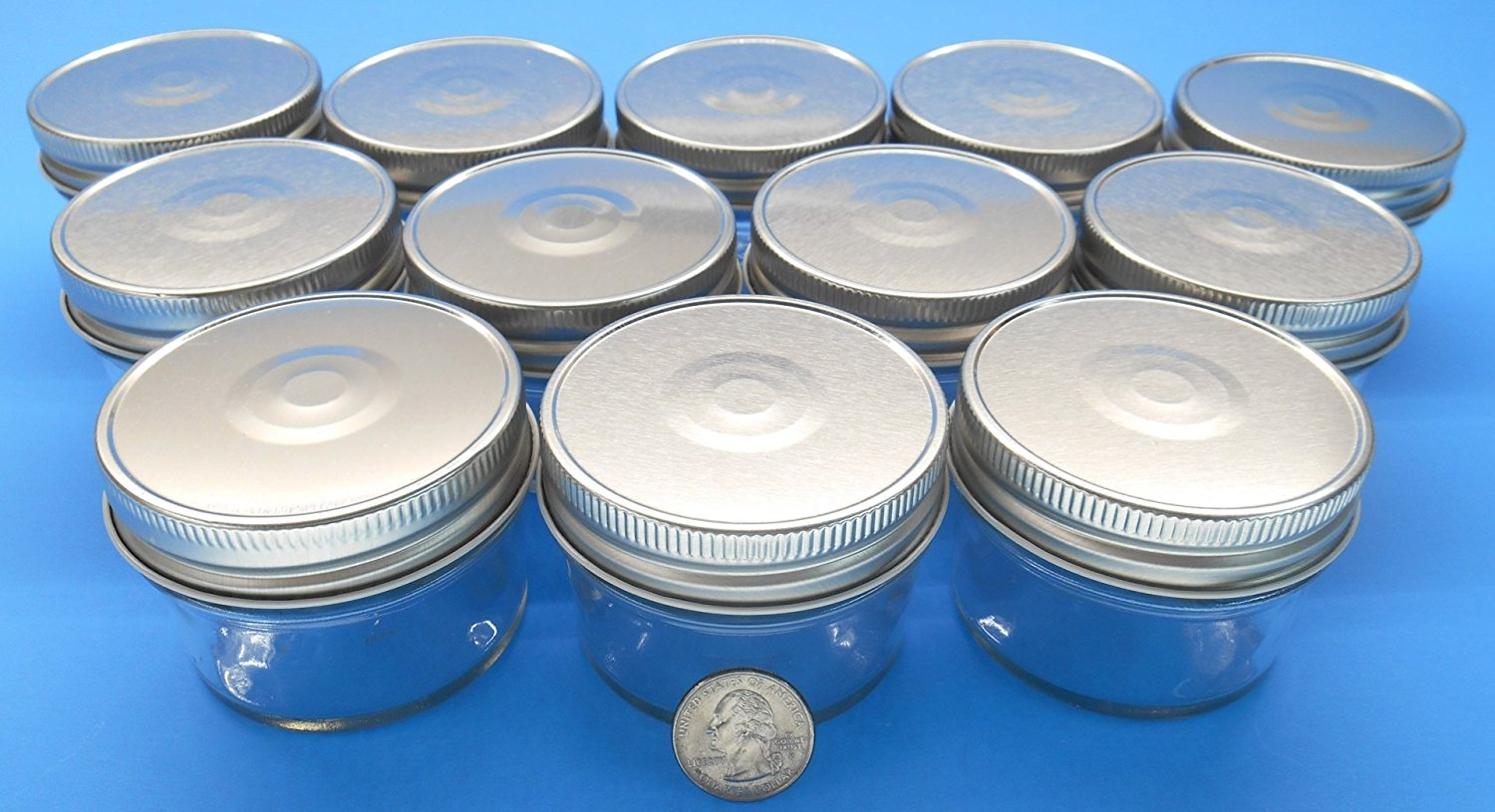 set of 12 4 oz mason jars with smooth sides easy to With 4 oz mason jar lid labels