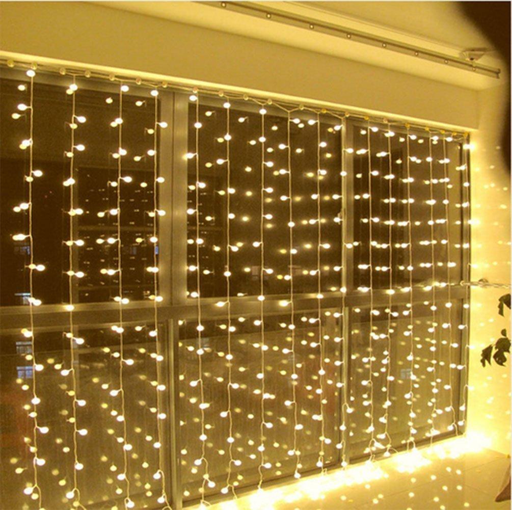 Zstbt Linkable 304led 9 84ft9 84ft 3m3m Window Curtain