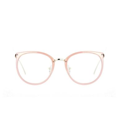 Amomoma Womens Fashion Clear Lens Round Frame Eye Glasses AM5001 ...
