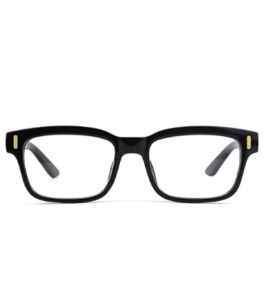 888debdccd Glasses Queen 201584 Modern Fashion Rectangular Thick Frame Clear ...