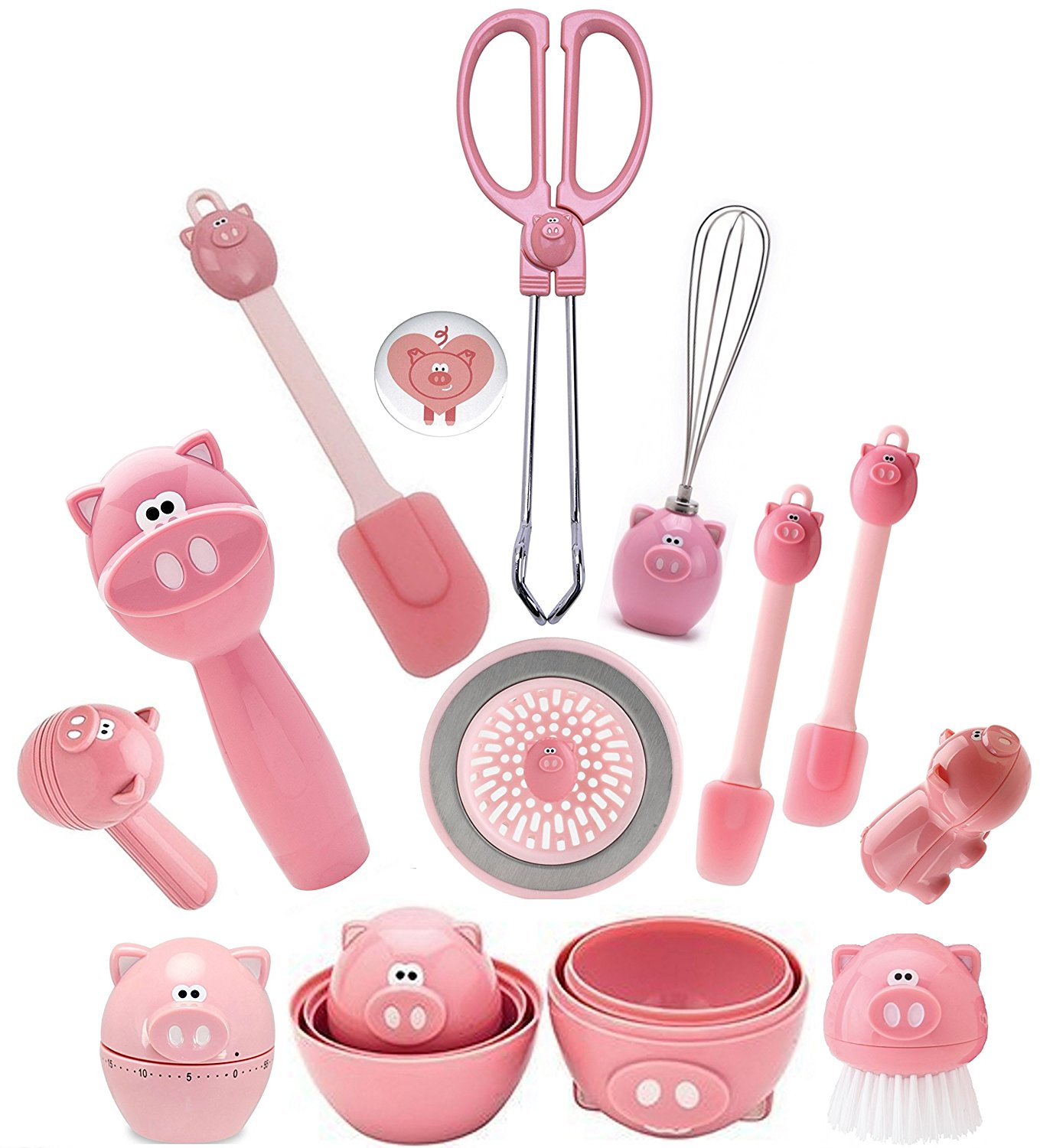 Joie Oink Oink Kitchen Gadgets Set Of 12 Home