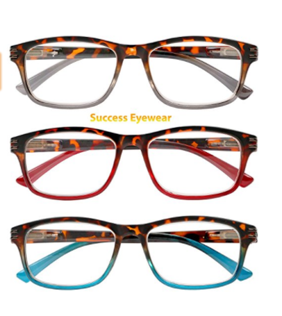 512b9470b646 Reading Glasses 3 Pair Great Value Stylish Readers Fashion Men and ...
