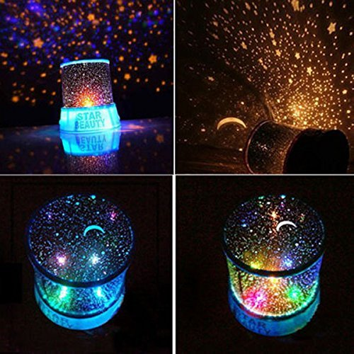 Aeeque Led Star Projector Night Light Amazing Lamp Master