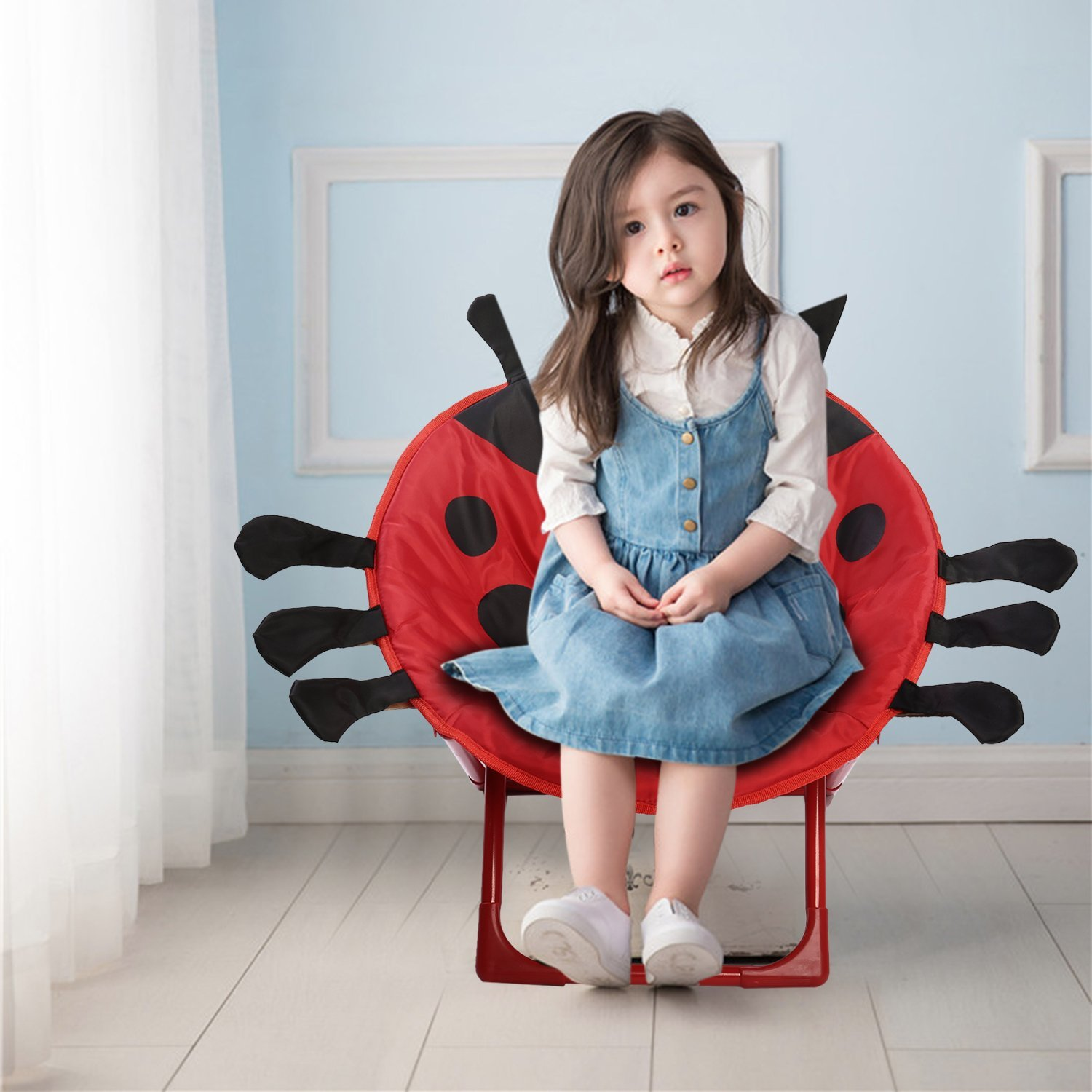 Prime Beetle Chair Outad Folding Chairs Foldable Children Kids Theyellowbook Wood Chair Design Ideas Theyellowbookinfo
