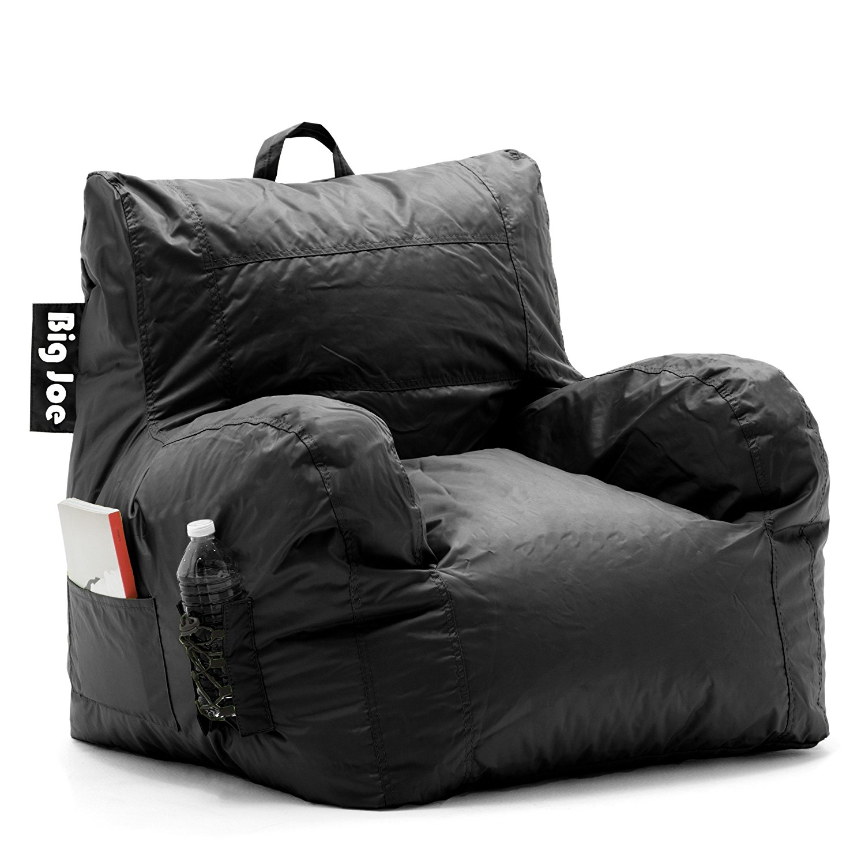 Big Joe Dorm Chair Limo Black Party Supply Factory