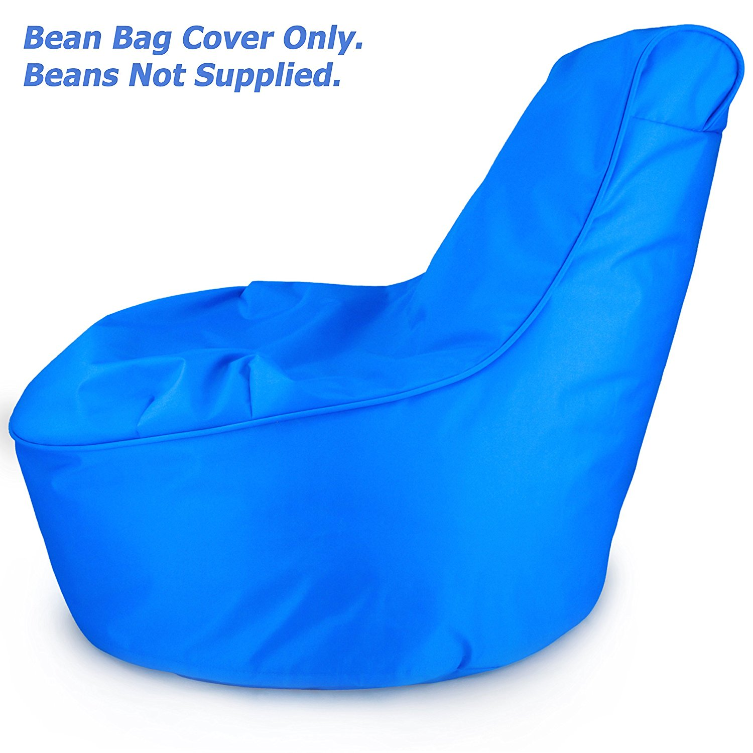 Comfy Kids Bean Bag Chair Cover Only Electric Blue
