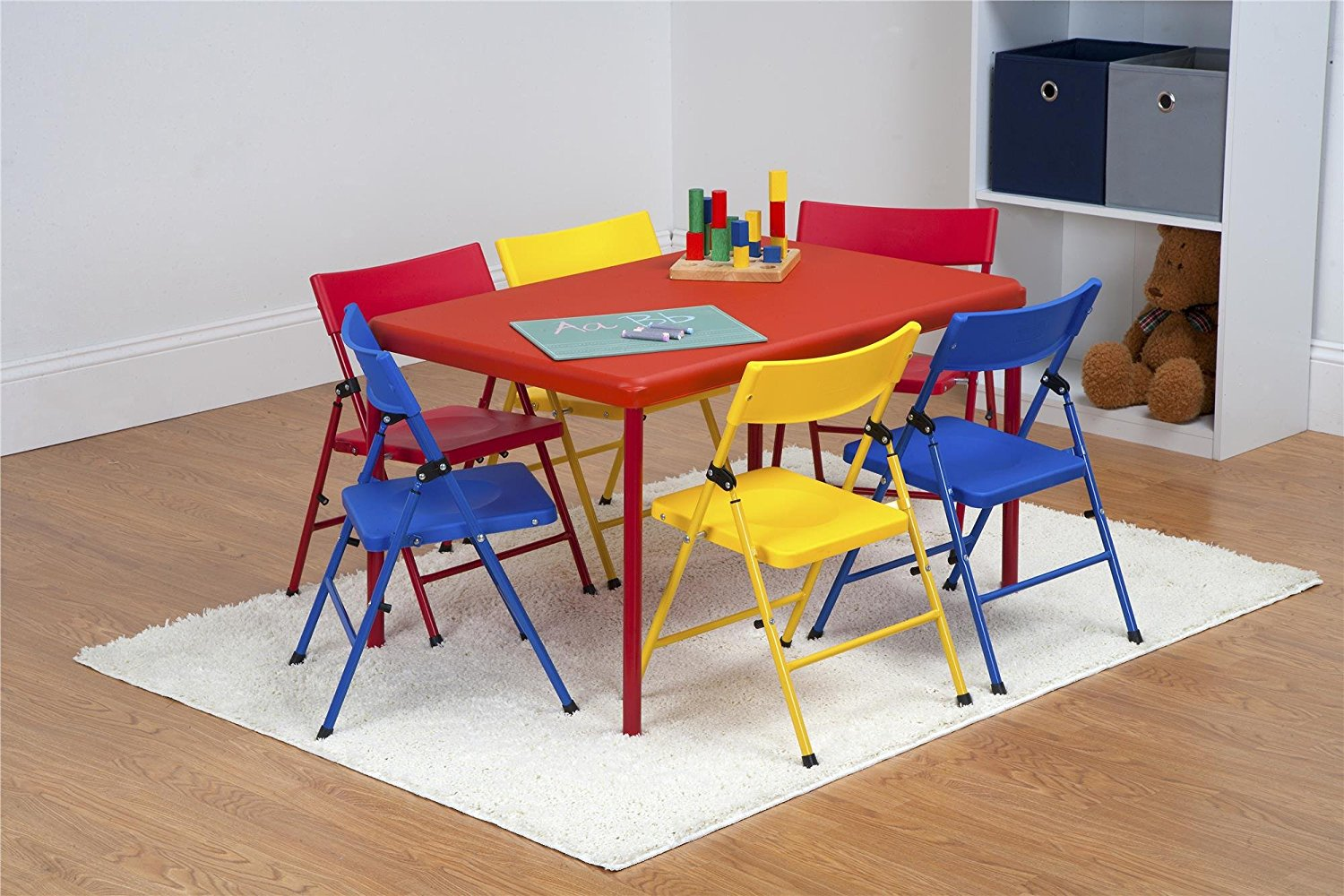 Cosco Kids Furniture 7 Piece Children S Juvenile Set