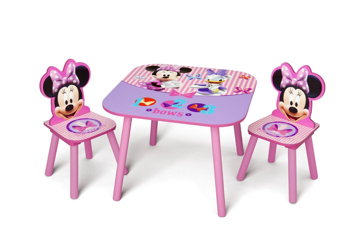 Fabulous Delta Children Table Chair Set Disney Minnie Mouse Theyellowbook Wood Chair Design Ideas Theyellowbookinfo