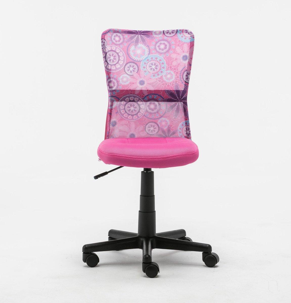 Eurostile mid back adjustable ergonomic mesh swivel computer office desk task chair 8007fl - Ergo kids task chair ...