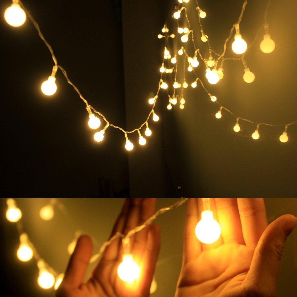 Globe String Light,Dailyart LED Starry Light Fairy Light for Garden ...