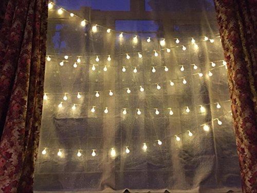 Globe String Light,Dailyart LED Starry Light Fairy Light for Garden,Wedding,Xmas Party (WW ...