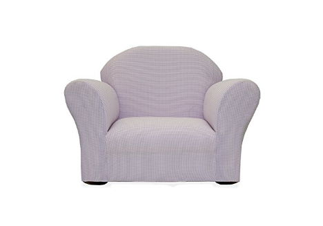 Keet Roundy Rocking Kid S Chair Gingham Lavender