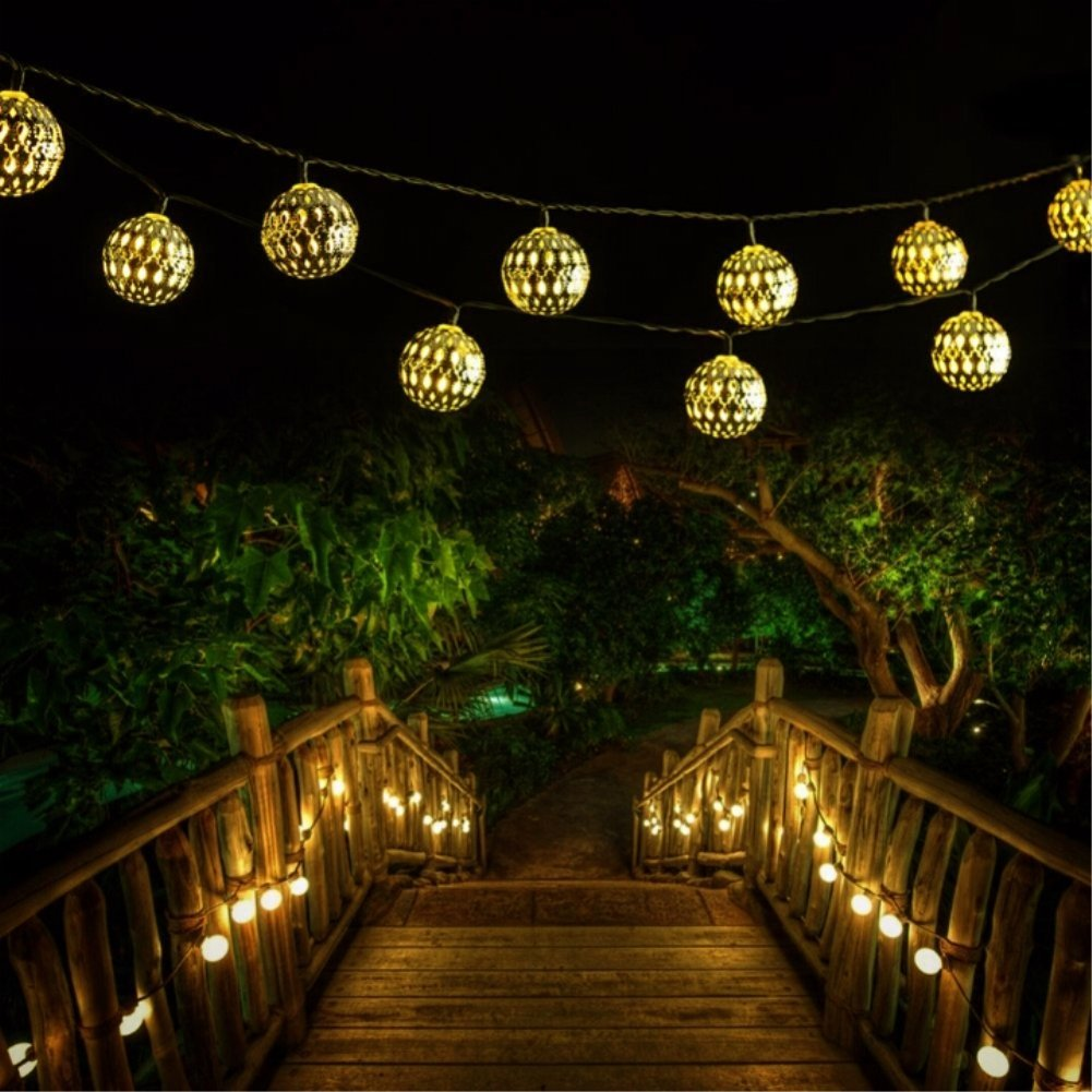 Led Globe String Lights Goodia Battery Operated 10 49ft