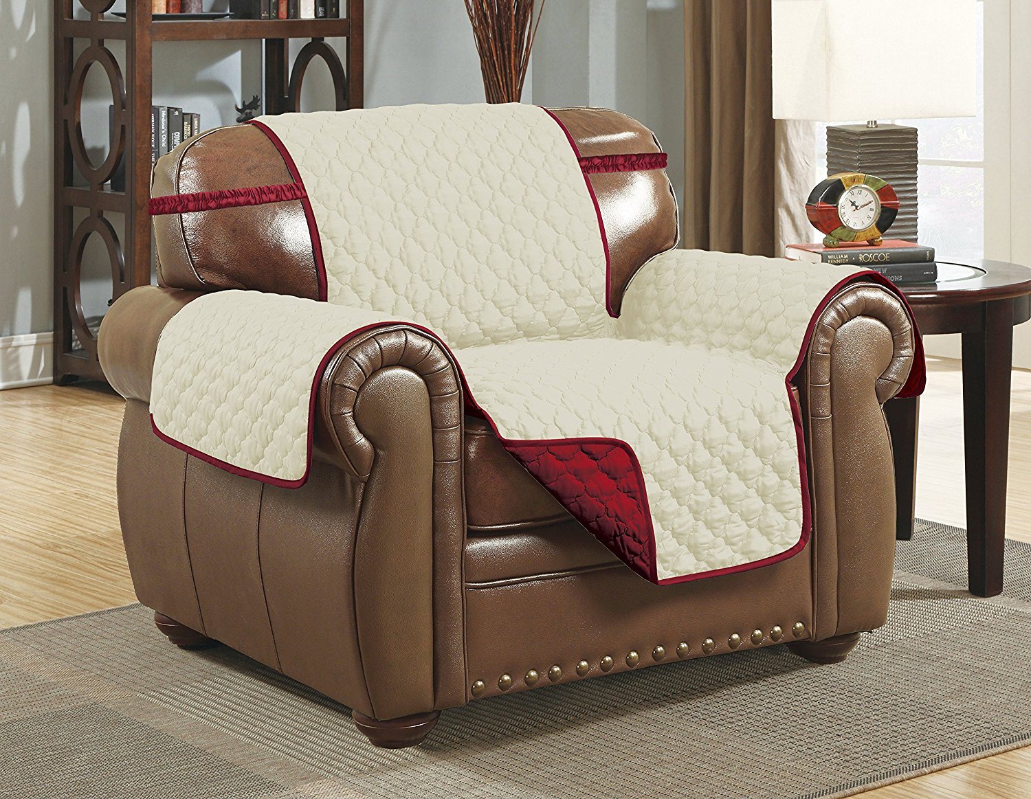Linen Store Quilted Reversible Microfiber Pet Furniture