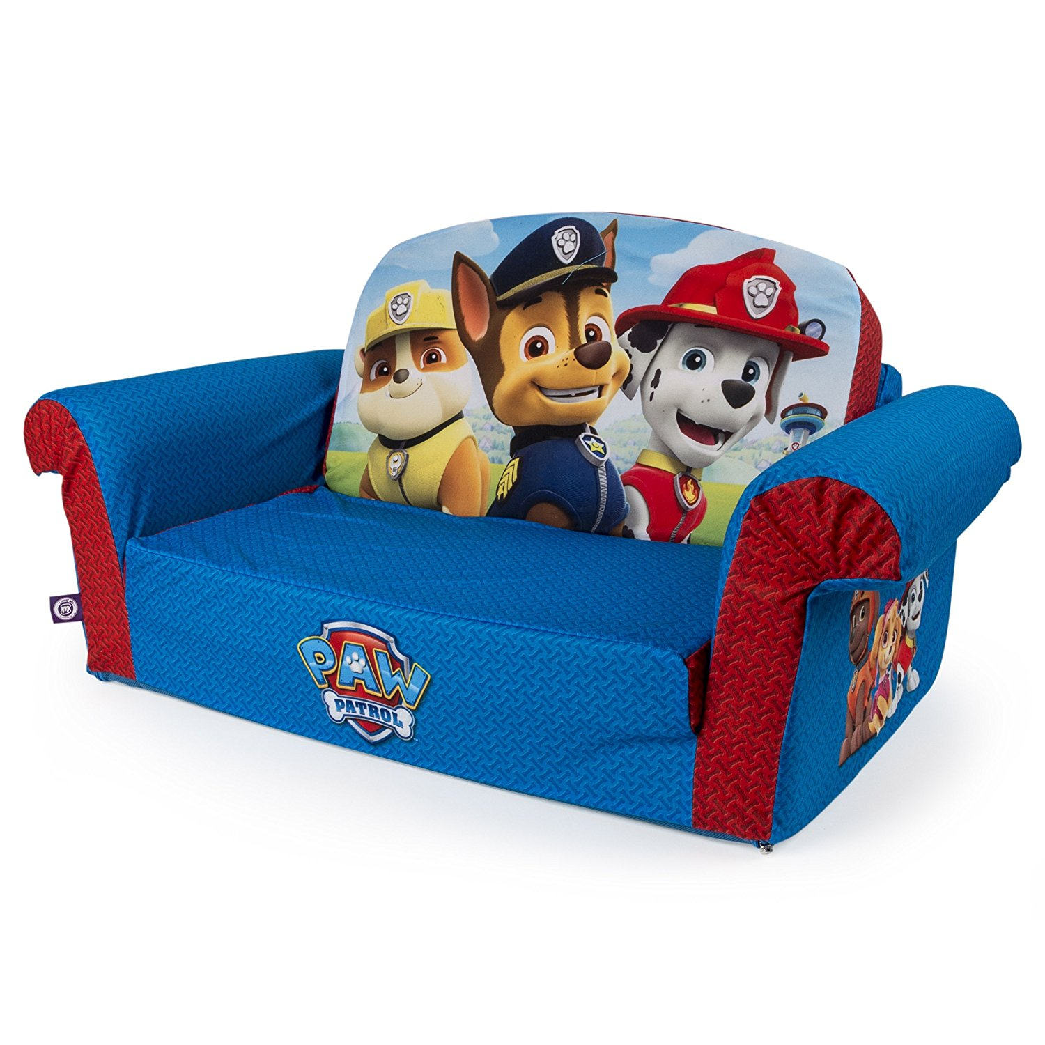 Marshmallow Furniture Children S 2 In 1 Flip Open Foam Sofa