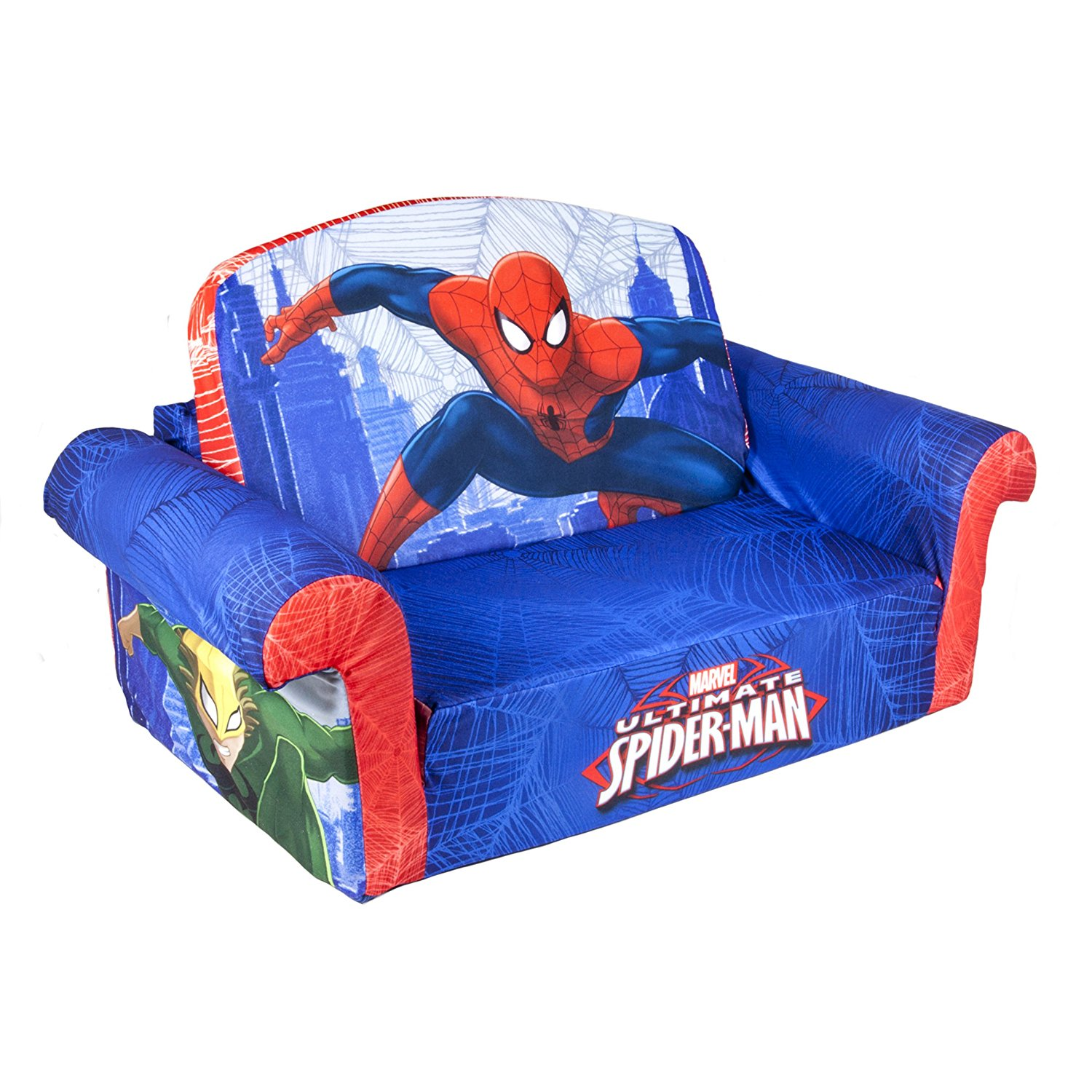 Marshmallow Furniture Children S 2 In 1 Flip Open Foam Sofa Marvel