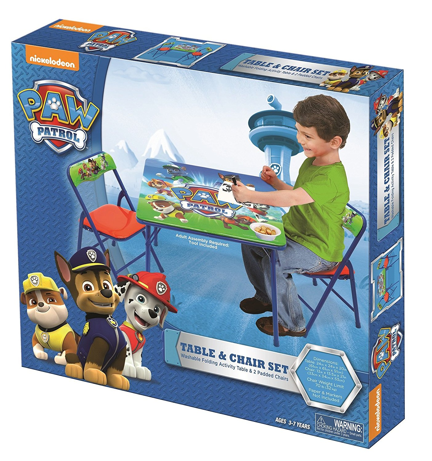 Paw Patrol Activity Table Sets Party Supply Factory