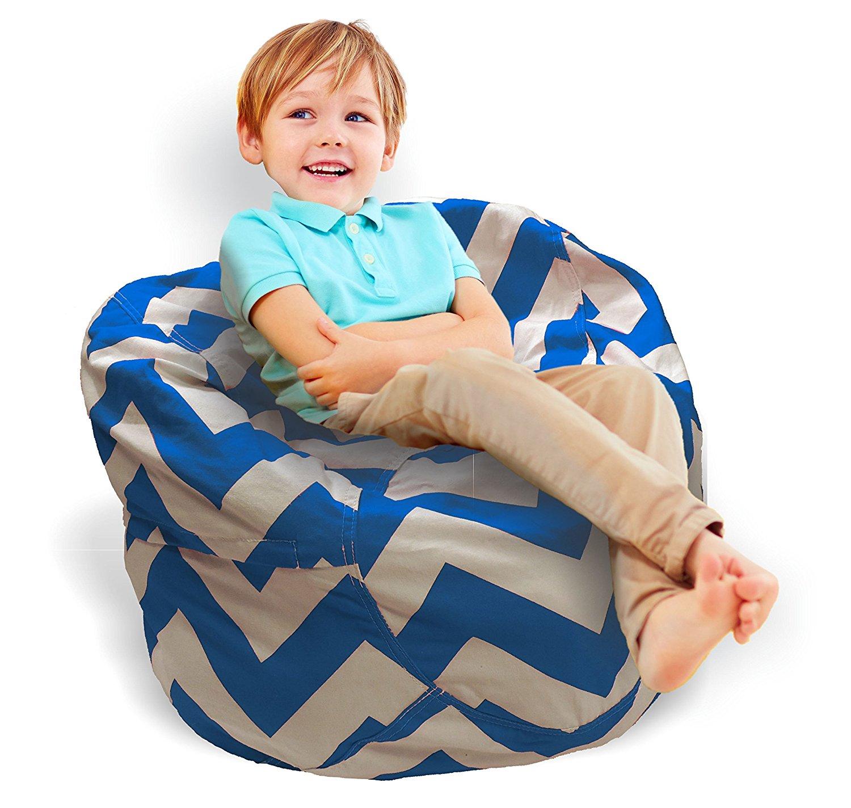 Tremendous Stuffed Animal Storage Bean Bag Chair 2 In 1 Stuffed Toy Theyellowbook Wood Chair Design Ideas Theyellowbookinfo