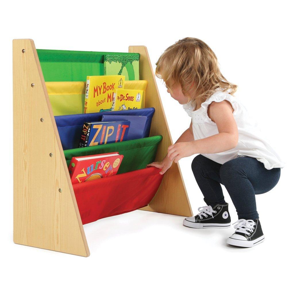White Toddler Bookshelf