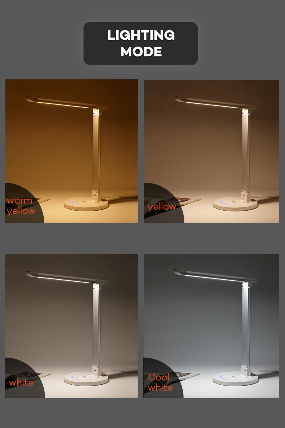 Taotronics Led Desk Lamp Eye Caring Table Lamps Dimmable