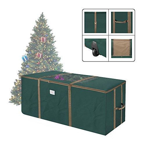 12 Foot Christmas Tree.1562 Elf Stor Green Rolling Christmas Tree Storage Duffel Bag W Window For 12 Ft Tree